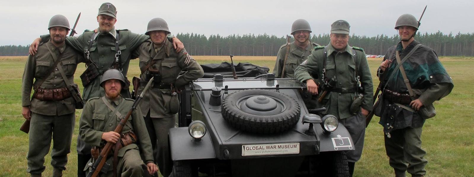 Välkommen till Global War Museum i Munkedal